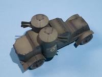 Master Box 1/72 British Armoured Car, Austin Mk.III, WWI Era 1