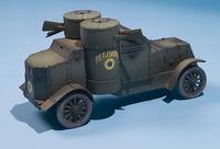 Master Box 1/72 British Armoured Car, Austin Mk.III, WWI Era 2