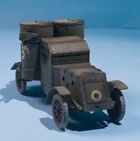 Master Box 1/72 British Armoured Car, Austin Mk.III, WWI Era 3