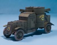 Master Box 1/72 British Armoured Car, Austin Mk.III, WWI Era 4