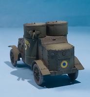 Master Box 1/72 British Armoured Car, Austin Mk.III, WWI Era 5