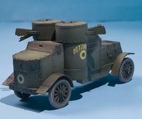 Master Box 1/72 British Armoured Car, Austin Mk.III, WWI Era 6