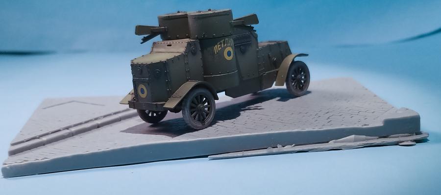 Master Box 1/72 British Armoured Car, Austin Mk.III, WWI Era 9