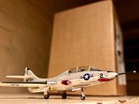 """Miniwing 1/144 Grumman F9F-8T """"Cougar"""" 11"""