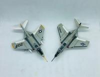 """Miniwing 1/144 Grumman F9F-8T """"Cougar"""" 09"""