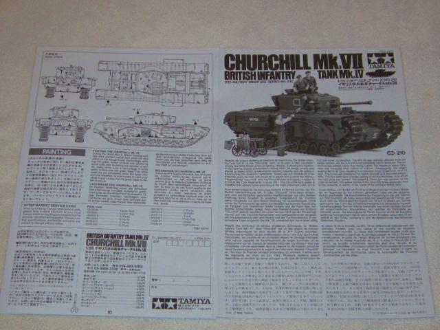 Tamiya 1/35 Churchill Mk VII 16